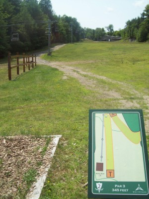 Whiteface Mountain, Main course, Hole 2 Tee pad