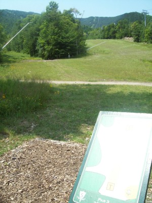 Whiteface Mountain, Main course, Hole 5 Tee pad