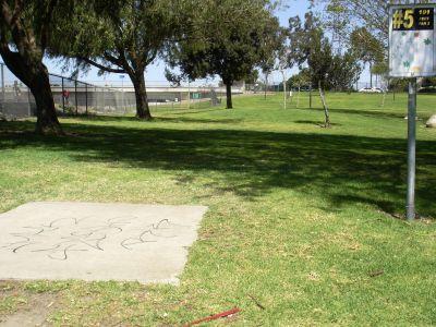 Liberty Park, Main course, Hole 5 Tee pad