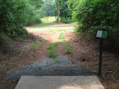 North Cabarrus Park, Main course, Hole 2 Tee pad