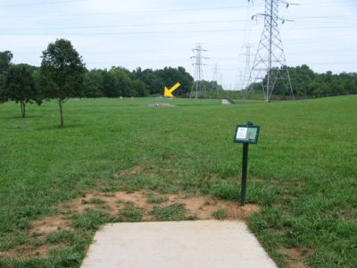 North Cabarrus Park, Main course, Hole 3 Tee pad