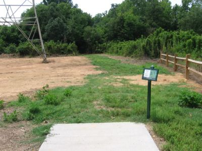 North Cabarrus Park, Main course, Hole 4 Tee pad