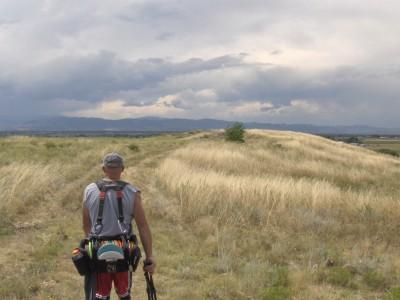 Timnath Reservoir, Main course, Hole 3 Long approach