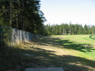 Fort Nugent Park, Main course, Hole 13 Tee pad