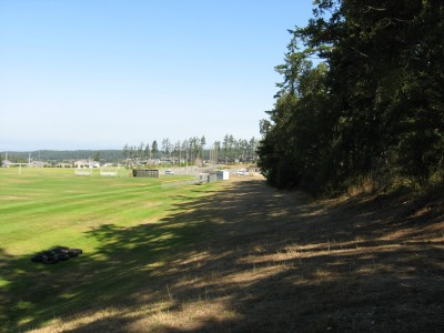 Fort Nugent Park, Main course, Hole 10 Tee pad