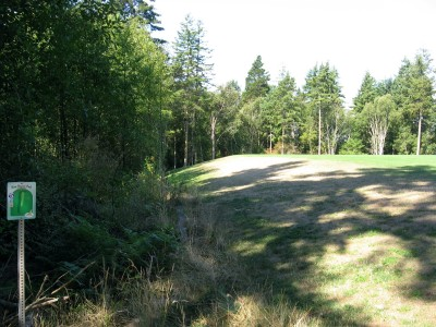 Fort Nugent Park, Main course, Hole 5 Tee pad