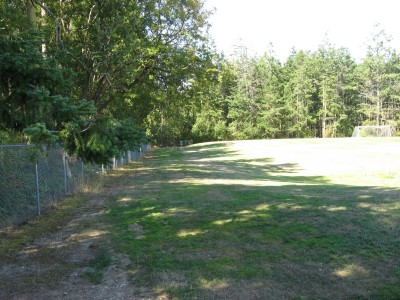 Fort Nugent Park, Main course, Hole 14 Tee pad