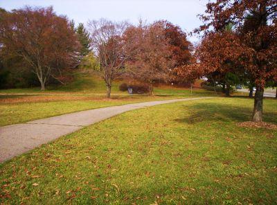 Irving Park, Main course, Hole 3 Midrange approach