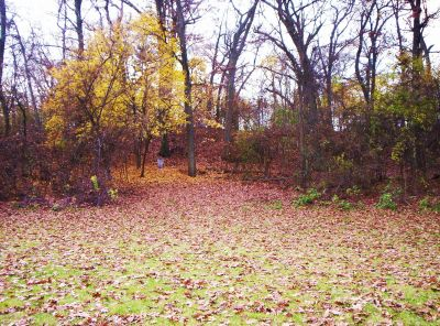 Irving Park, Main course, Hole 6 Midrange approach