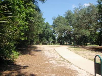 Ferry Park, Main course, Hole 6 Short tee pad