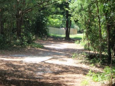 Ferry Park, Main course, Hole 2 Long tee pad