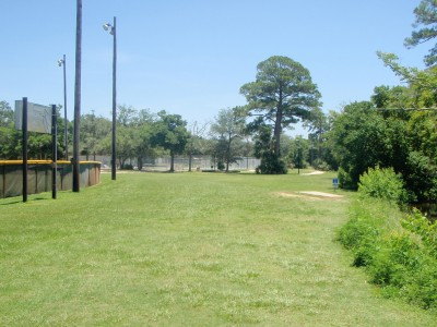 Ferry Park, Main course, Hole 17 Long tee pad