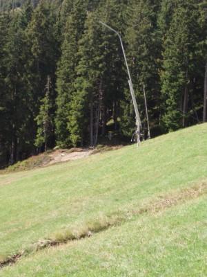 Schmitten Discgolf Parcours, Main course, Hole 13 Long tee pad