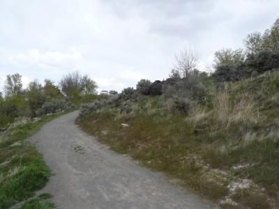 Rock Creek, Main course, Hole 18 Tee pad