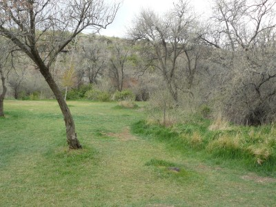 Rock Creek, Main course, Hole 3 Tee pad