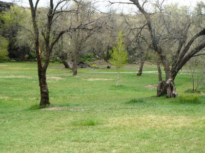 Rock Creek, Main course, Hole 4 Tee pad
