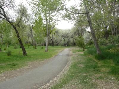 Rock Creek, Main course, Hole 12 Tee pad