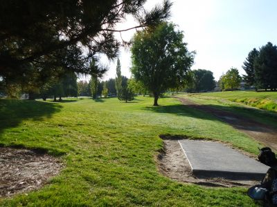 College of Southern Idaho, Main course, Hole 11 Tee pad