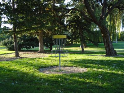 College of Southern Idaho, Main course, Hole 2 Reverse (back up the fairway)