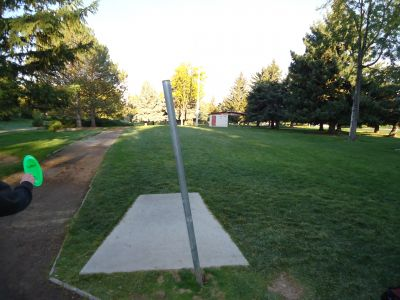 College of Southern Idaho, Main course, Hole 1 Tee pad