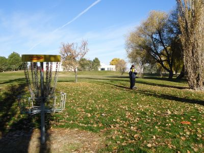 College of Southern Idaho, Main course, Hole 11 Reverse (back up the fairway)