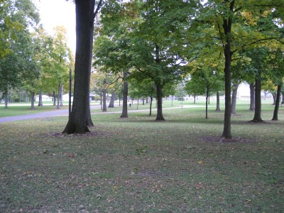 Hopedale Park, Main course, Hole 9 Tee pad