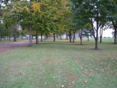 Hopedale Park, Main course, Hole 8 Tee pad