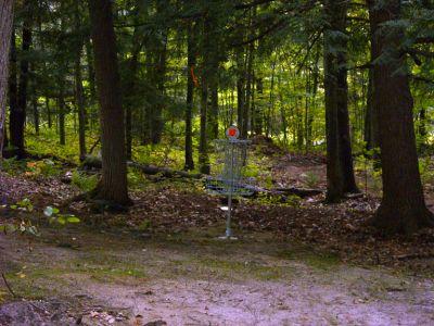 Sanford Lake Park, The Jungle, Hole 8 Putt