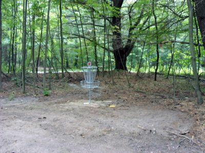 Sanford Lake Park, The Jungle, Hole 9 Putt