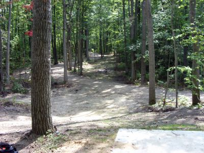 Sanford Lake Park, The Jungle, Hole 8 Tee pad