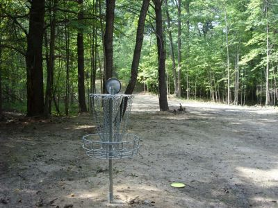 Sanford Lake Park, The Jungle, Hole 12 Reverse (back up the fairway)