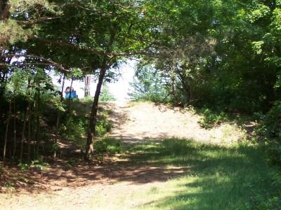 Shore Acres Park, Main course, Hole 18 Short approach