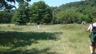 Shore Acres Park, Main course, Hole 8 Short approach
