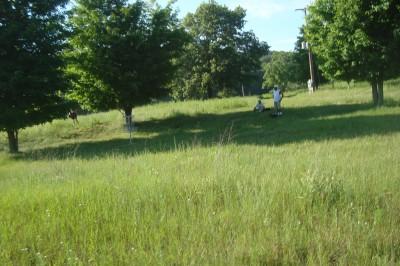 Shore Acres Park, Main course, Hole 13 Reverse (back up the fairway)