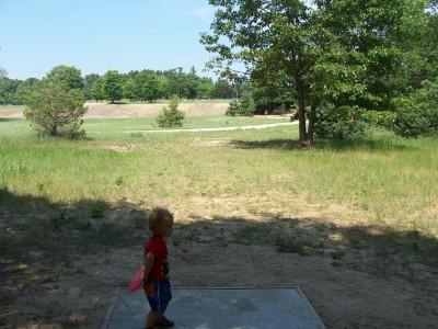 Shore Acres Park, Main course, Hole 16 Long tee pad
