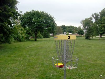 Homewood Park, Main course, Hole 2 Reverse (back up the fairway)