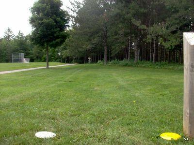 Homewood Park, Main course, Hole 4 Short tee pad