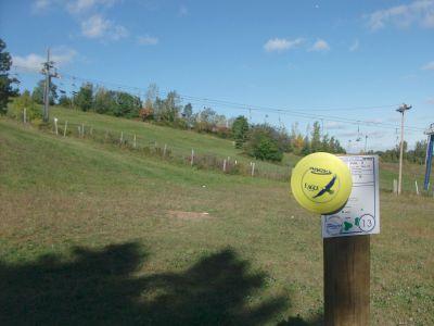 Chicopee, Main course, Hole 13 Hole sign