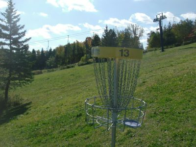 Chicopee, Main course, Hole 13 Reverse (back up the fairway)