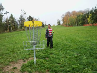 Chicopee, Main course, Hole 9 Reverse (back up the fairway)