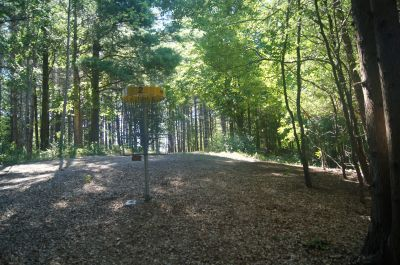 Chicopee, Main course, Hole 2 Reverse (back up the fairway)