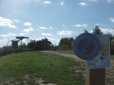 Chicopee, Main course, Hole 15 Middle tee pad