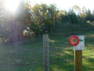 Chicopee, Main course, Hole 11 Hole sign