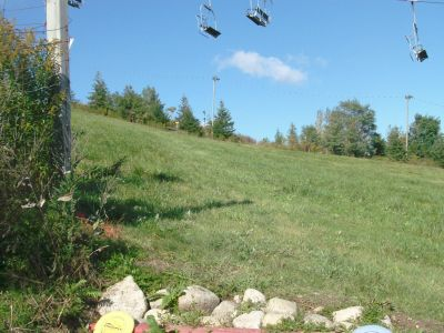 Chicopee, Main course, Hole 14 Middle tee pad
