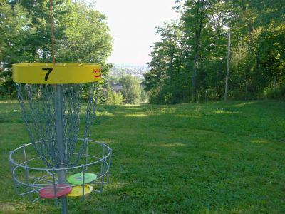 Chicopee, Main course, Hole 7 Reverse (back up the fairway)
