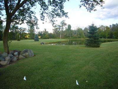 Ponder Hills, Main course, Hole 2 Tee pad