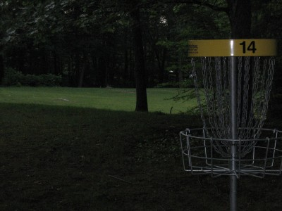 Page Park, Main course, Hole 14 Reverse (back up the fairway)