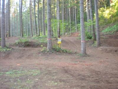 Horning's Hideout, Meadow Ridge, Hole 13 Short approach