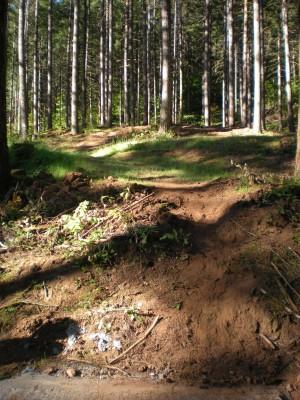 Horning's Hideout, Meadow Ridge, Hole 4 Tee pad