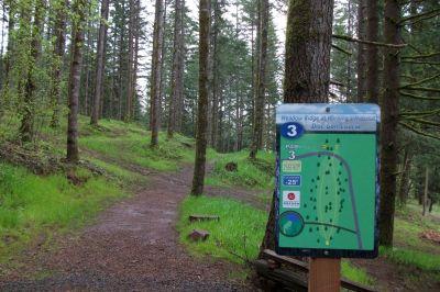 Horning's Hideout, Meadow Ridge, Hole 3 Tee pad